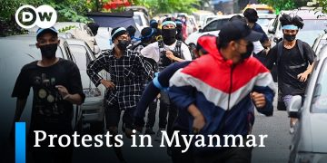 More than 700 killed since Myanmar's military coup in February | DW News