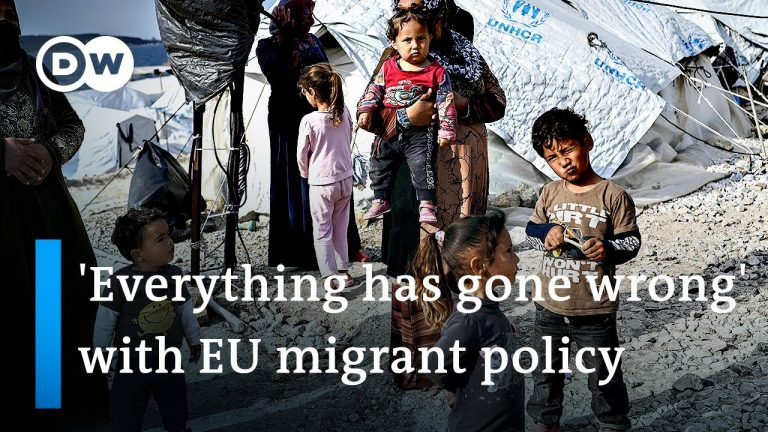 Europe under fire for treatment of migrants in Greece | DW News