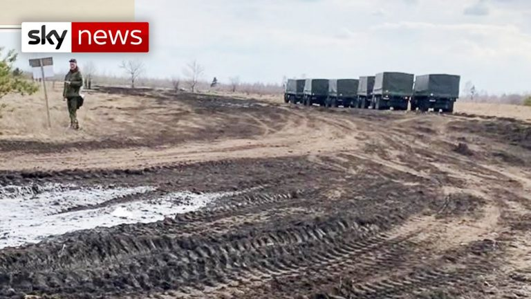 Ukraine accuses Russia of stoking tensions, and military build-up increases