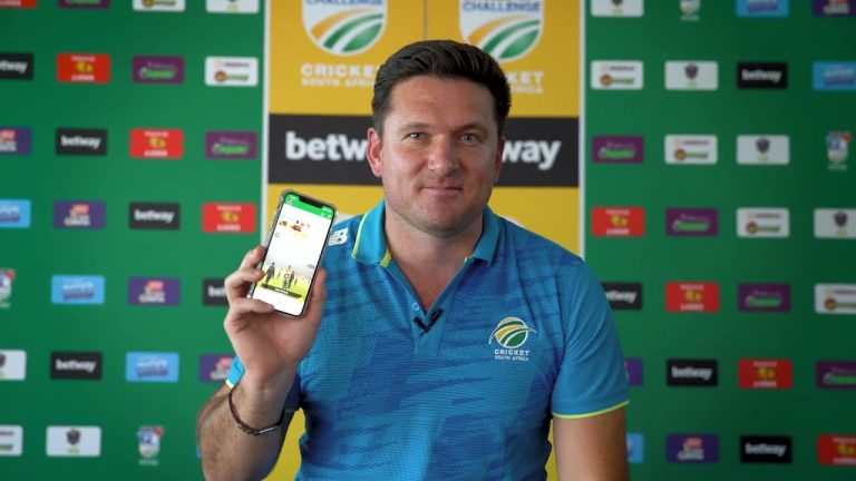 Director of Cricket and #Proteas legend Graeme Smith welcomes you to the CSA Official App.