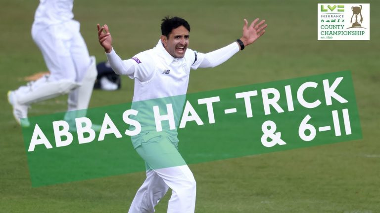 Mohammad Abbas Takes Hat-Trick & 6-11!   LV= Insurance County Championship