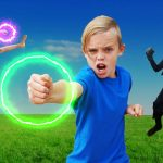 A Sneaky Spy Battles us for Our Treasure X on Kids Fun TV! 1