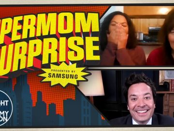 Jimmy Surprises Supermom of 3 Ashley in Time for Mother's Day | In Partnership with Samsung