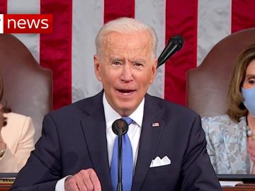 President Biden vows to 'turn peril into possibility' at joint session of Congress