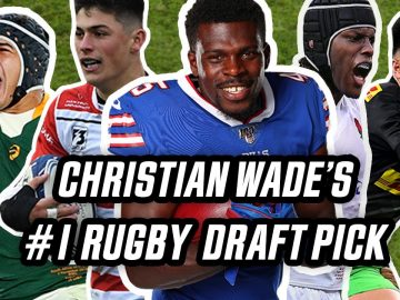 Which rugby star would Christian Wade draft first? | The Wrap with Ugo Monye