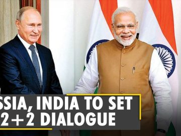 India, Russia to establish '2+2 ministerial dialogue' between foreign, defence ministers   WION News