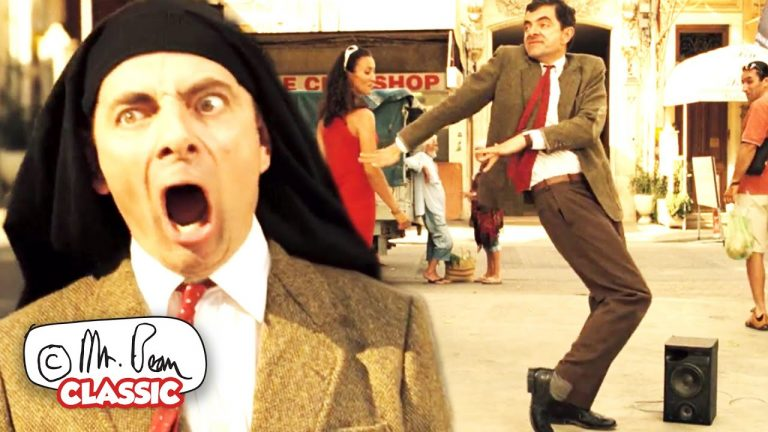 How To DANCE The BEAN WAY!   Mr Bean's Holiday   Classic Mr Bean