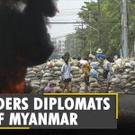 US orders Diplomats to leave Myanmar as unrest grows   Myanmar coup update   Latest English News