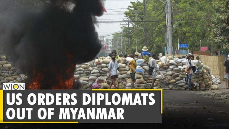 US orders Diplomats to leave Myanmar as unrest grows | Myanmar coup update | Latest English News
