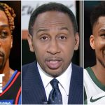 'Grow the hell up!' - Stephen A. on Dwight Howard taking issue with Giannis celebrating | First Take