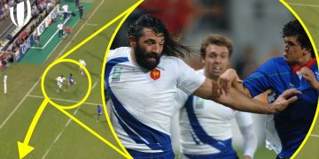 Sebastien Chabal Can't Be Stopped | The Best France World Cup Tries