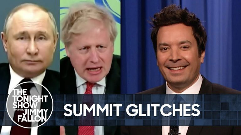 Biden's Climate Summit Was a Technological Disaster | The Tonight Show Starring Jimmy Fallon