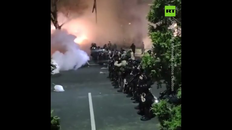 'Are we at war?' | Minnesota BLM protests met with tear gas and flashbangs