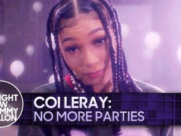 Coi Leray: No More Parties | The Tonight Show Starring Jimmy Fallon
