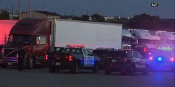 Police: 29 people recovered from truck in Texas