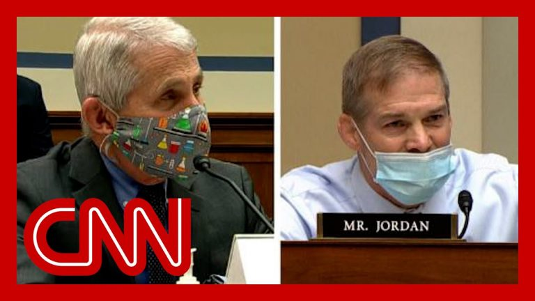 Fauci fires back at Rep. Jim Jordan during heated exchange about pandemic