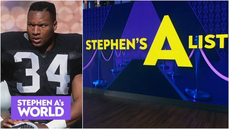 """Stephen A. ranks his top 5 """"if only"""" athletes ever 