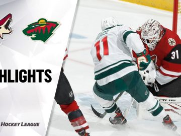 Coyotes @ Wild 3/16/21 | NHL Highlights