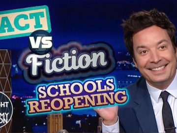 Schools Reopening: Fact vs. Fiction | The Tonight Show Starring Jimmy Fallon