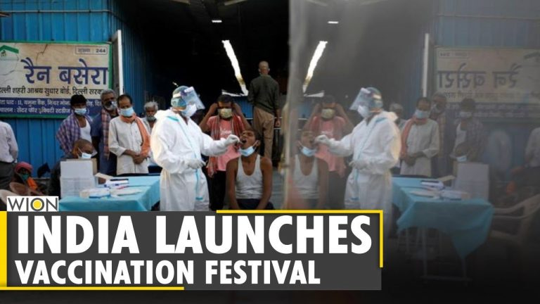 Amid rising number of COVID-19 infections, India launches vaccination festivals   WION