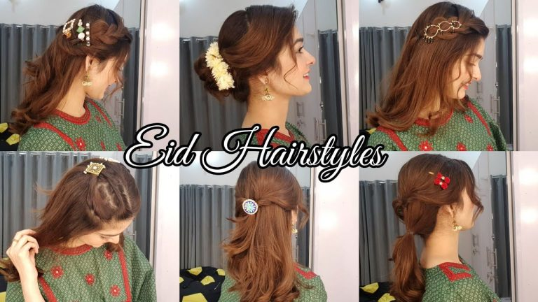 Hairstyles For Eid || Simple & Easy 1