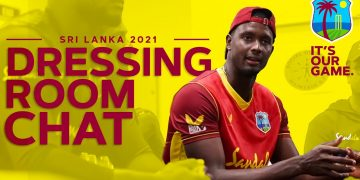Dressing Room Scenes Post SL Victory! | Holder Gives Speech | West Indies