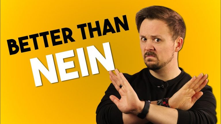 Different Ways Of Saying No In German | A Get Germanized Lesson