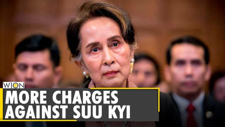 Myanmar: Aung San Suu Kyi faces new charge under official secrets law   Military Coup   WION News