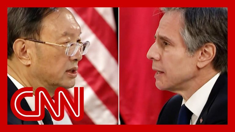 US-China meeting breaks into tense confrontation on camera