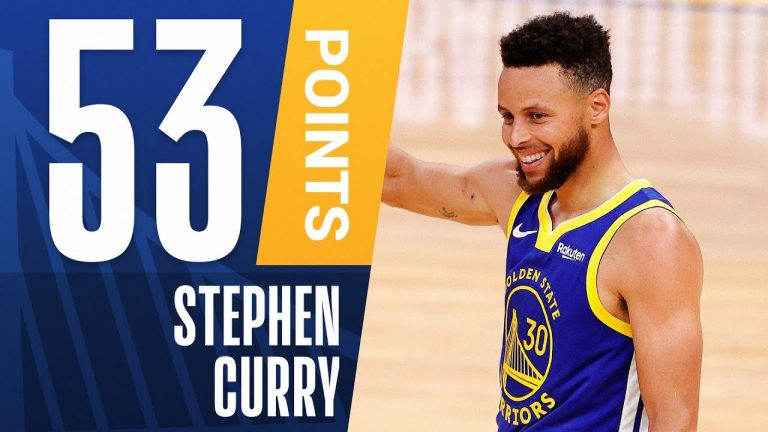 Steph Curry Posts 53 PTS on HISTORIC Night! 🔥 1