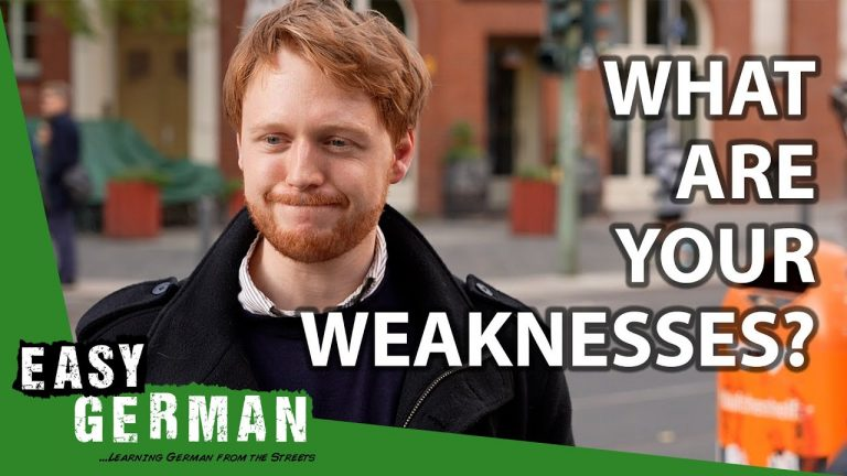 What Are Your Weaknesses?   Easy German 373