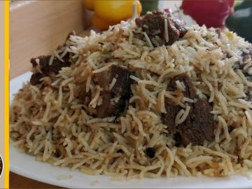 Tasty Beef Yakhni Pulao Recipe • Cooking with Asifa