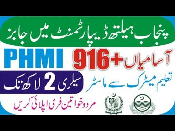 Punjab Health Department Jobs | Govt Jobs 2021 | Punjab Primary and Secondary Healthcare Jobs