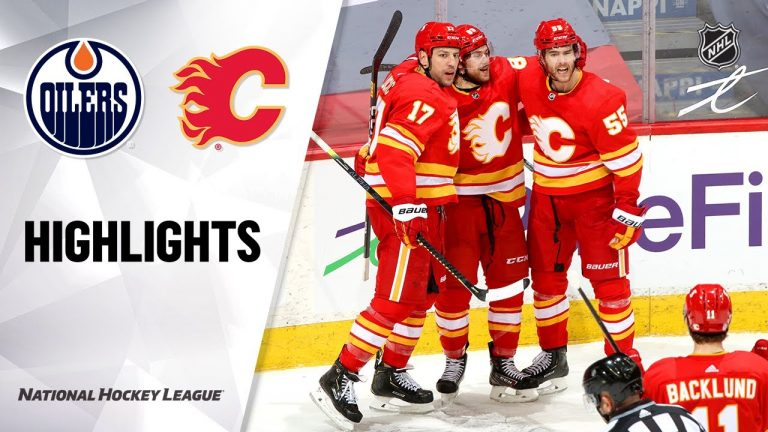Oilers @ Flames 3/15/21   NHL Highlights