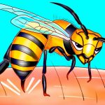 That's Why Bees Can Only Sting Once