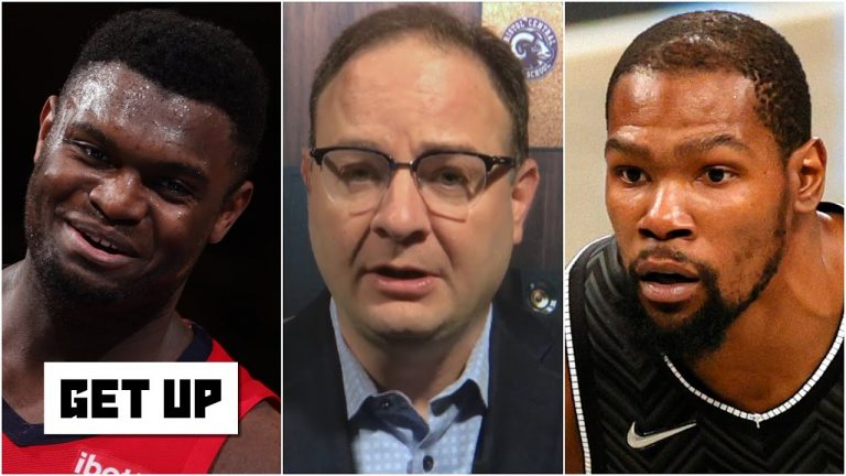 Heat vs. Nets highlights and analysis: Woj on Kevin Durant's injury and Zion's future | Get Up
