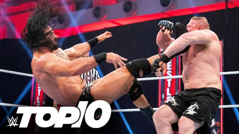 Drew McIntyre's most impactful Claymores: WWE Top 10, April 7, 2021