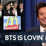 BTS Collaborates with McDonald's on Celebrity Meal   The Tonight Show Starring Jimmy Fallon