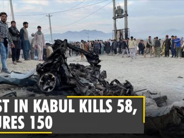 Afghanistan: Car bombing at Afghan school in Kabul injures over 150, kills 55 | Latest English News