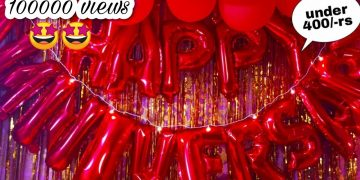 Very Easy Anniversary Decoration Idea At Home | Decoration Idea |Wedding Anniversary Decoration idea