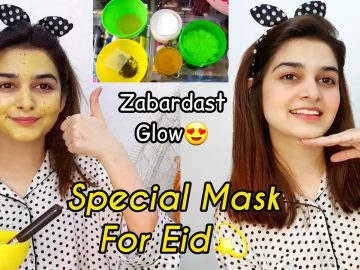 Special Mask For Eid || Zabardast GLOW || Eid k Rung Mairy Sung Ep #5 5