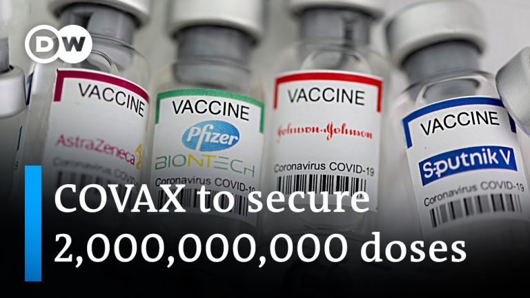 COVAX: G20 leaders to back voluntary vaccine licensing   DW News
