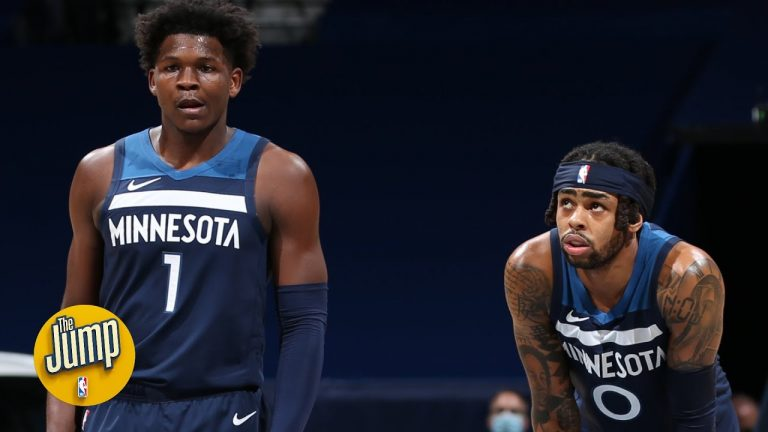 The Timberwolves are auditioning KAT, Russell and Edwards the rest of the season – Young | The Jump