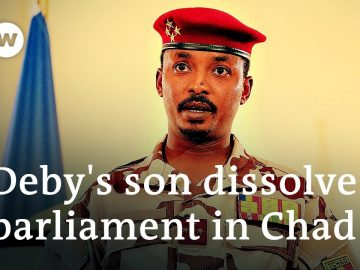 Chad security forces clash with protesters after Deby's son takes control | DW News