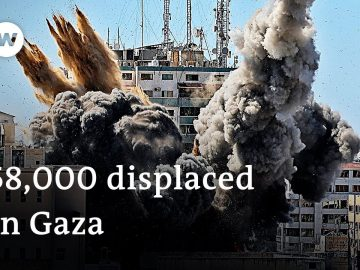 Israeli military conducts airstrikes on '40 underground targets' in Gaza | DW News