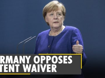 Germany opposes US-backed global waiver on protection for COVID-19 vaccines | World News | English