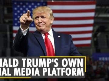 Donald Trump launches his own social media space on his website | Latest English News | World News