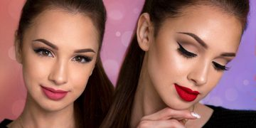 Easy Everyday Glam Makeup Tutorial + 2 Lip Options