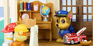 Paw Patrol get a New House & Go to the Shopping Mall - Learning Video for Kids! 17