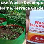 How to prepare and use Waste Decomposer for home kitchen garden | seedbasket | terrace garden 1
